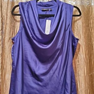Purple Apt 9 xl blouse nwt